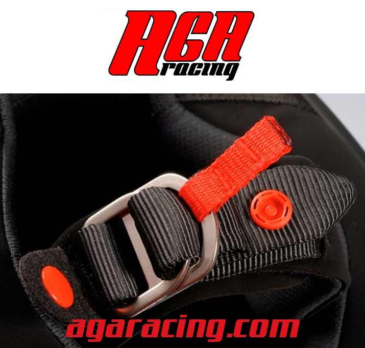 sistema cierre casco carting aga racing tienda karting