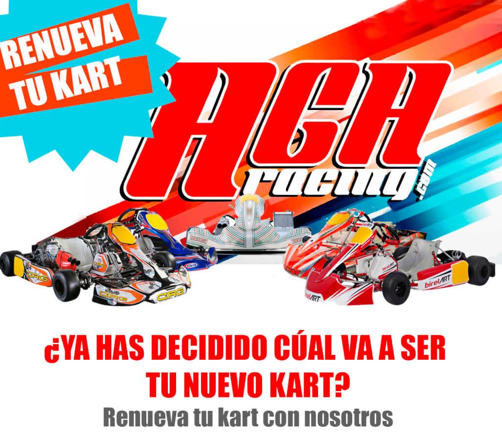 renovar kart aga racing tienda karting